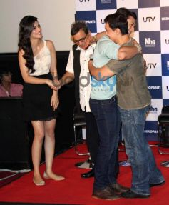 Aamir khan at trailor launch of Heropanthi