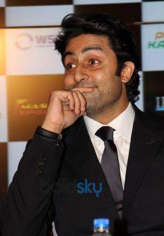 Abhishek Bachchan at the Pro Kabaddi League press conference