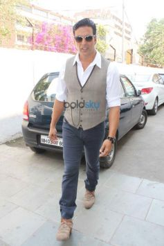 Akshay Kumar during Holiday film promotion