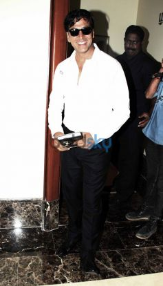 Akshay Kumar at Prem Chopra Biography Launch