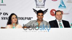 Akshay Kumar at Tolpar Knife Training & unarmed combat training session