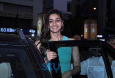 Alia Bhatt at pvr juhu for 2 states promotion