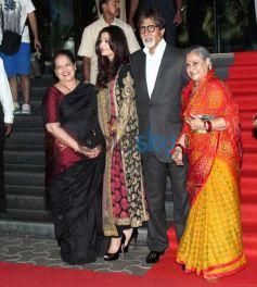 Amitabh Bachchan, Aishwariya Jaya, Bachchan at Kochadaiyaan event
