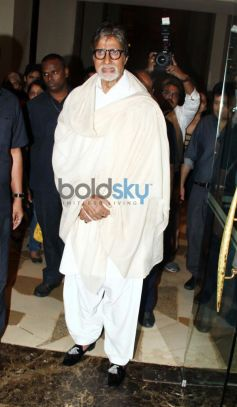 Amitabh Bachchan at Prem Chopra Biography Launch