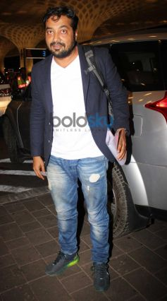 Anurag Kashyap Leave for IIFA 2014
