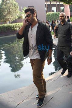 Arjun Kapoor during 2 States promotion