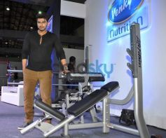 Arjun Kapoor at fitness exhibition