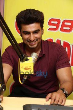 Arjun Kapoor at Radio Mirchi