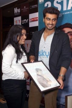 Arjun Kapoor stuns during 2 States promotion