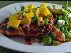 Barbecued Chicken With Mango Salsa
