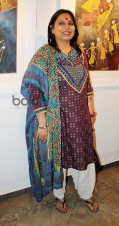 Celebs at Ashok Bhowmic Painting Exhibition