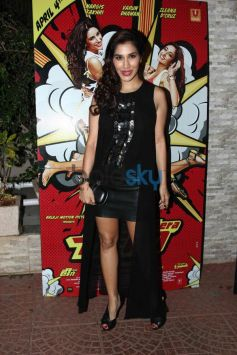 Sophie Chaudhary at Mai Tera Hero and Ragini MMS 2 success party