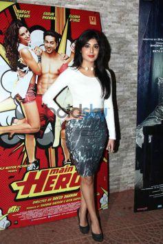 Kritika at Mai Tera Hero and Ragini MMS 2 success party