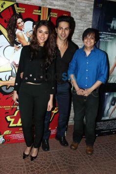 Ileana and Varun at Mai Tera Hero and Ragini MMS 2 success party
