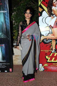 Divya Datta at Mai Tera Hero and Ragini MMS 2 success party