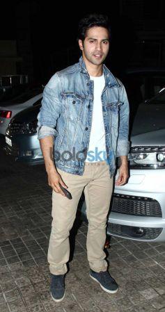 Varun Dhawan during Main Tera Hero Special Screening