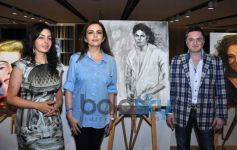 Celebs at Nawaz Modi art exibition