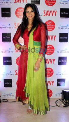 Celebs at Savvy Achievers Award function