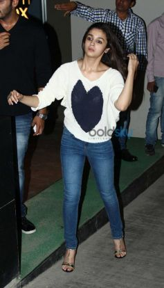Celebs at special screening of film 2 States