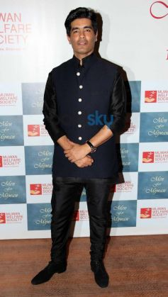 Manish Malhotra at Men For Mijwan charity fashion