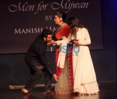Ranbir Kapoor at Men For Mijwan charity fashion
