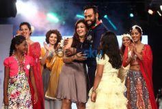 Celebs stuns at Smile Foundation fashion show