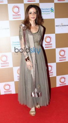 Sussanne Roshan stuns at Swades Foundation star studded fundraise
