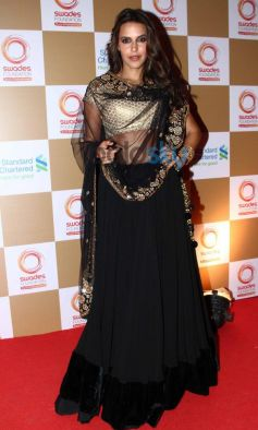 Neha Dhupia stuns at Swades Foundation star studded fundraise