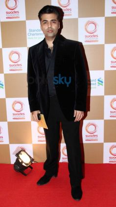 Karan Johar stuns at Swades Foundation star studded fundraise