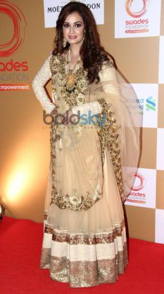 Dia Mirza stuns at Swades Foundation star studded fundraise