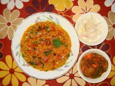 Cucumber Chana Dal