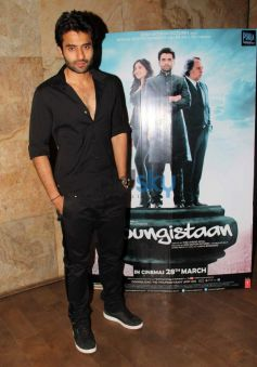 Jackky Bhagnani at Youngistaan screening