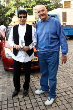 Jatinder and Prem Chopra at trailor launch of Heropanthi