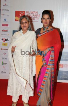 Jaya Bachchan and Shabana Azmi at Men For Mijwan charity fashion Show