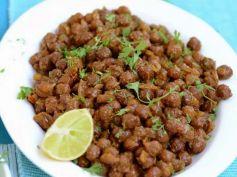 Kala Chana Sundal Navratri Recipe