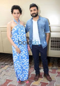 Kangana Ranaut stuns during Revolver Rani Media Interacation