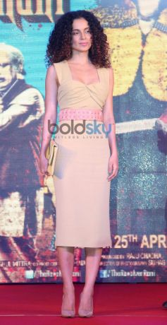 Kangana Ranaut stuns during Revolver Rani press meet