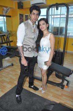 Karan Oberoi launch Fitt Zzone Gym