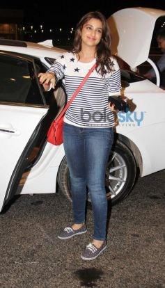 Parineeti Chopra Leave for IIFA 2014