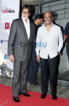 Rajnikant, Amitabh Bachchan at Kochadaiyaan event