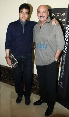 Rakesh Roshan and Jeetendra at Prem Chopra Biography Launch
