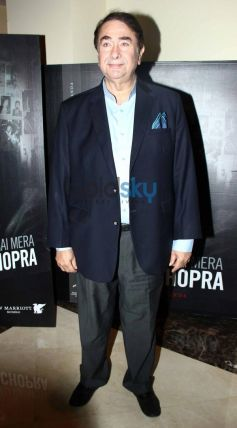 Randheer Kapoor at Prem Chopra Biography Launch