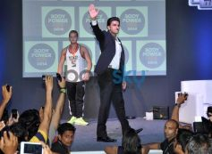 Ranveer Singh during fitness exhibition