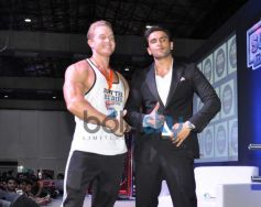 Ranveer Singh at fitness exhibition