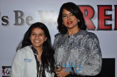 Sameera Reddy and Dr. Rajvi Mehta at supports Anti Anemia Drive Campaign
