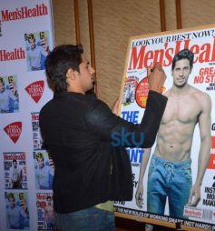 Sidharth Malhotra unveils Men Health magazine cover