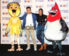 Sonakshi Sinha and Imran Khan at Rio 2 hindi trailor launch