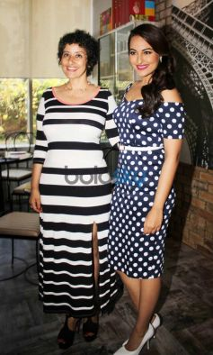 Sonakshi Sinha with Manisha Koirala at Women's Health magazine cover