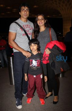 Sonu Sood Leave for IIFA 2014
