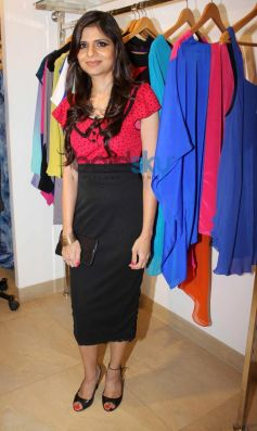 Sonya Vazifdar at Sonya Vazifdar new collection launch